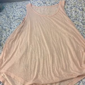 See Through Athletic Tank Top